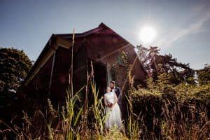 Brautpaarshooting in der Mittagssonne
