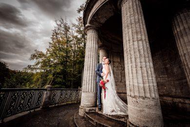 Brautpaarshooting im Stadtwald Krefeld