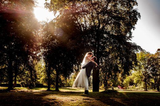 Brautpaarshooting am Schloss Hertefeld