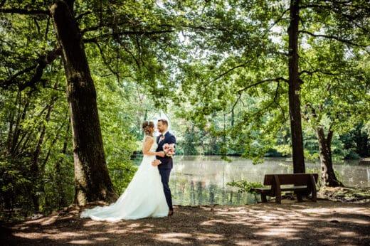 Brautpaarshooting an der Paesmühle in Straelen