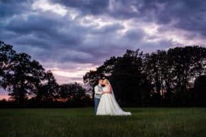 Brautpaarshooting am Abend in Krefeld