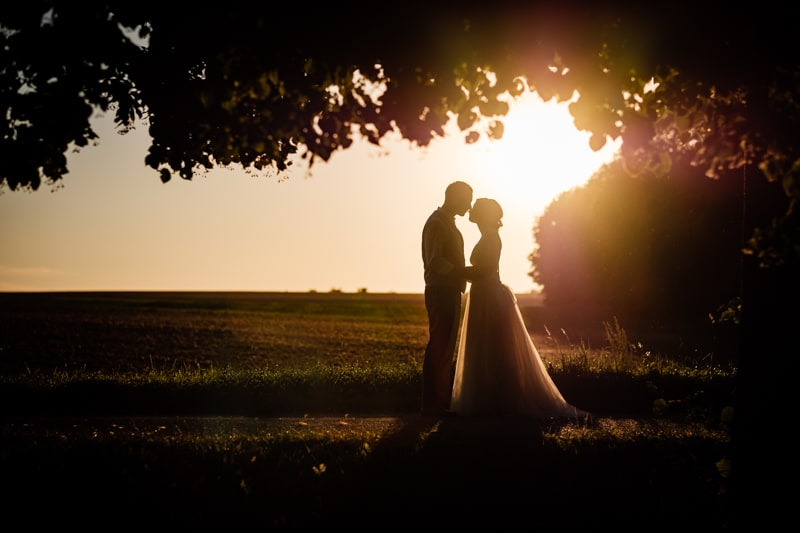Brautpaarshooting am Abend